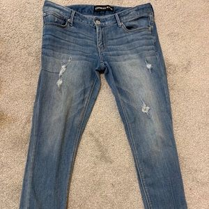 Express Stella Ankle Low Rose Jeans size 10R